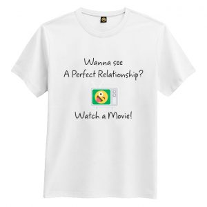 A perfect relationship tshirt white