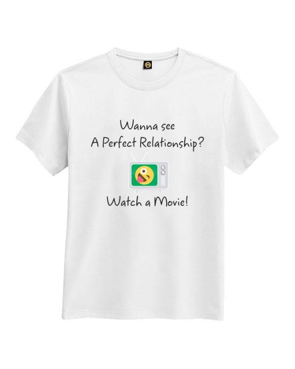 A perfect relationship tshirt white